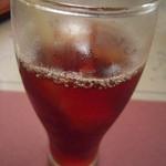 レストラン ソネット - ドリンク写真:きまぐれデザートセットのアイスティー