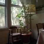 レストラン ソネット - やわらかい陽が差し込みます