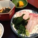 20845216 - ランチ鯛飯定食1000円(鯛8切れ)