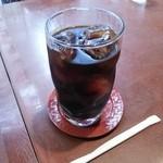 浪花家総本店 - アイスコーヒー。