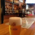 エミ ネパール - タンドリーチキンとビールは良く合う