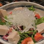 芋んちゅ - ジーマーミ豆腐サラダ