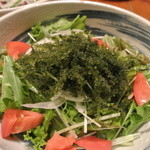 芋んちゅ - 海ぶどうサラダ