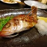 旬宝 - のどぐろ1尾(焼き)980円