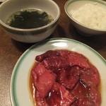金剛園 - ロース定食2