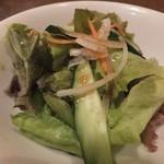 金剛園 - 定食サラダ