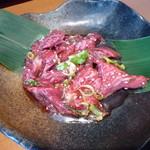 じゅうじゅう - 料理写真:十勝ハーブ牛(サガリ)795円