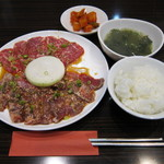 焼肉 火らし - 焼肉ランチ(1480円)