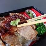 ほっともっと - 新・ビーフステーキ弁当:680円→580円(2013.08.31までのキャンペーン)