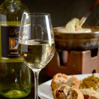 ワインアドバイザーが創作串揚げにぴったりなワインをセレクト!