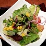茶屋 草木万里野 - サラダ