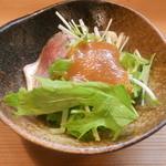 竹はる - 青柳とアジ