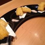 博多 表邸 - とうもろこしの天ぷら