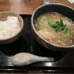 夢こばち - 柚子風味塩らーめん&ライス