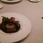 レストランボンテ - 黒毛和牛もも肉のロティ