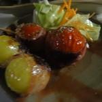 かじしか - マスカット&トマト焼き