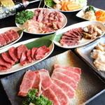 和牛焼肉ばっされ - 料理写真:ばっされ 人気メニュー勢揃い!