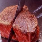 """ビフテキのカワムラ - 料理写真:""""最高級の神戸牛""""を提供しております。"""