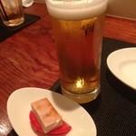 20864931 - オリオンビール735円 お通し525円