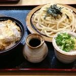 20865059 - ざる・カツ丼セット  1000円 (2013.08現在)