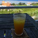 カフェ ラグナ - パッションフルーツジュース