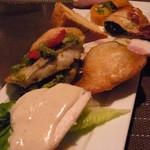 ル・デパー - 相変わらずたっぷり盛りの前菜