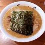 むつみ屋 - 芳醇味噌ラーメン(¥830) むつみ屋の中でも、蒲田店だけのオリジナル