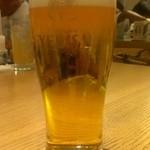 ひつまぶし名古屋 備長 - 生ビール(750円)