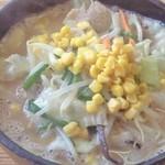 天池家 - 味噌ラーメン(730円)