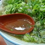 ラーメン 藤 - スープ