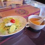 20880431 - ランチサラダ&スープ☆