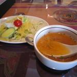 20880433 - ランチサラダ&スープ☆