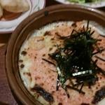 20880803 - ランチ、タラコとエビのドリア500円、スープ、サラダつき                       プチフォッカ69円