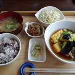 心和 - 料理写真:鶏と豆腐の揚げ出し
