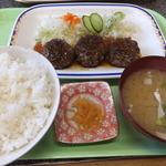 なりこま家 - ハンバーグ定食¥580