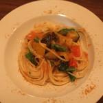 キップ - 野菜 と カラスミのスパゲッティー (2013/08)