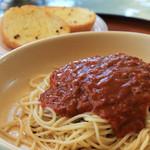 チャーリーレストラン - スパゲティミートソース