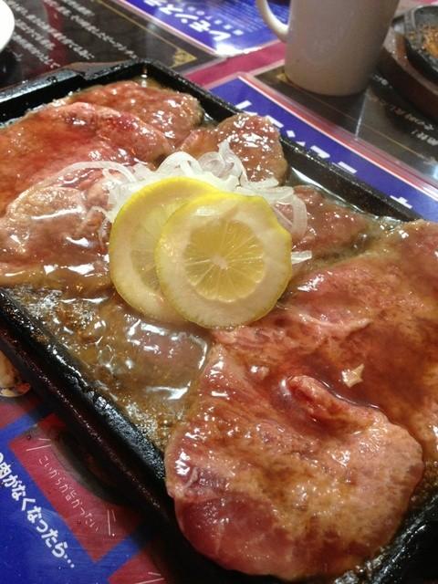 下町の洋食 時代屋 - スペシャルレモンステーキセット♪