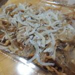 でんこ - 料理写真:【かめ風焼そば@500円】 もう少しパンチが欲しいかな。。