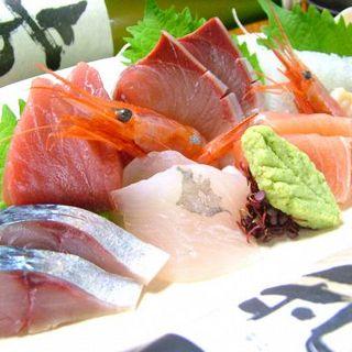 お刺身も魚本来の味をお愉しみいただけるこだわり…