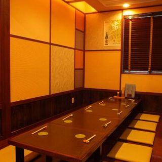 金沢駅より徒歩3分!最大18名様の個室空間を完備