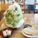 茶茶の間 - 抹茶金時(1200円)