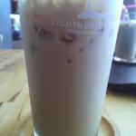 ライトハウスコーヒー - アイスバニララテ(2013/8)