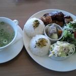カフェ カチャオ - 料理写真:この日の日替わりランチです