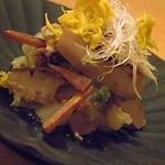 20893225 - 菊と松茸のお浸し