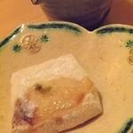 20893226 - 焼きハモ子の豆腐