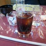 レストラン三國 - サービスのアイスコーヒー