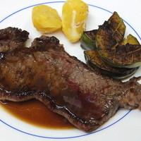 ル・ビストロ・ダ・コテ - 十勝牛サーロインステーキ