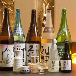 愛媛の地酒と美味しい料理