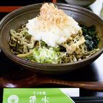 20897242 - 山菜おろし蕎麦
